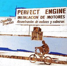 eyeone | seeking heaven #eyeone #seeking #signage #bicycles #art #heaven #mixed #cycling #media #typography