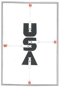 Baubauhaus. #usa #bombs #compass #navigation