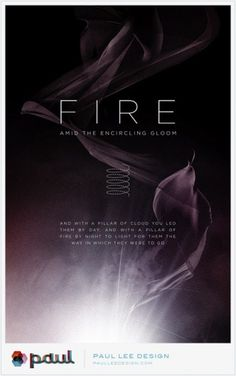 Paul Lee Design #print #design #lee #illustration #fire #poster #paul