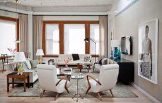Living room, art