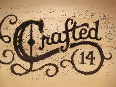 AAF Cincinnati Addys 2014 Crafted #food #typography
