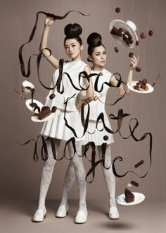 Typeverything.com - Chocolate Magic for HARBOUR... - Typeverything #type #photography #design