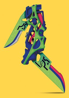 Joe-melhuish-int-3 #illustration #weapon #color #awesome