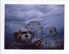 scary-bear | Flickr - Photo Sharing! #lantern #fairground #jarrod #polaroid #the #photography #vintage #renaud #room