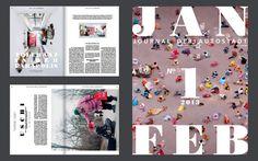 Autostadt journal   STRICHPUNKT DESIGN #spreads #editorial #magazine
