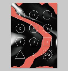 Josep Román Barri | The Strange Attractor #print #poster #typography