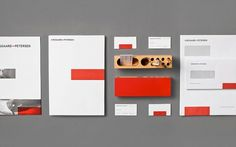 Graphic-ExchanGE - a selection of graphic projects - Page2RSS #branding #identity #red #pop #colour #stationery