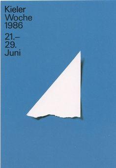 Kieler Woche by Pierre Mendell #pierre #kieler #sea #poster #woche #mendell
