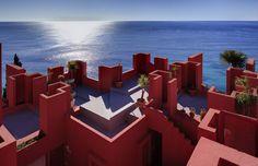 La Muralla Roja Architecture by Ricardo Bofill