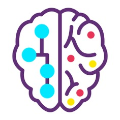 See more icon inspiration related to brain, AI, artificial intelligence, connection, technology, education, electronics, robotics, Science fiction, futuristic and automaton on Flaticon.