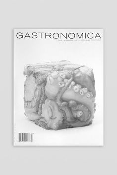 Graphic Porn #design #graphic #book #food #octopus #greyscale #photography #gastronomic #cube
