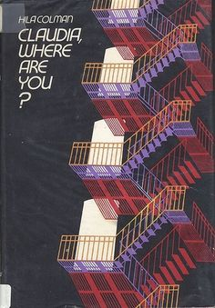 All sizes | claudia, where are you? | Flickr - Photo Sharing! #red #cream #orange #book #black #cover #purple #stairs