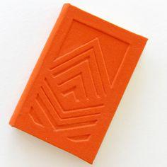 ARROW, hand-made notebook, journal. Find out more here: www.etsy.com/shop/TandemDesignsShop #notebook #handmade