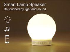 Smart Lamp Speaker #tech #flow #gadget #gift #ideas #cool