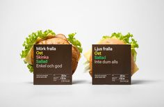 Reitan Sandwich Packaging by BVD #packaging #sandwich #bvd #reitan