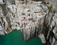 Rock of Ages #7 Active Section, E.L. Smith Quarry, Barre, Vermont, USA, 1991