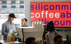 Silicon Milkroundabout coffee stand by Onwards