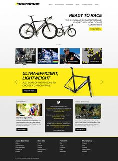 Boardman-homepage #bikes #design #road #clean #racing #web