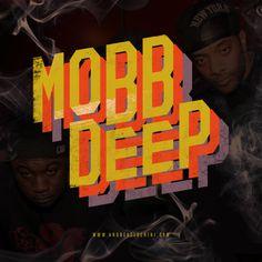 Mobb Deep #mobbdeep #hiphop #typography #branding