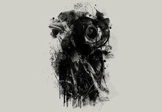 Black gasmask