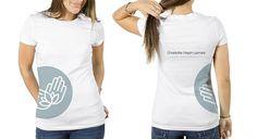 Branding - Charlotte Pepin-Lemire, masso-kinésithérapeute   Hoola création #logo #identity #shirt