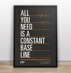 Gary Nicholson :: Portfolio :: Typography Jokes #font #line #black #poster #type #typography
