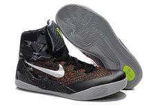 Nike Shoes Womens Zoom Kobe Ix 9 Black Boots Black Silver