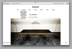 Bänziger Hug - Welcome / Bench.li #webdesign