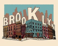 Design Work Life » cataloging inspiration daily #illustration #brooklyn #typography