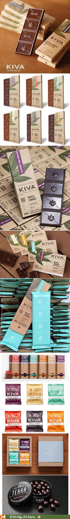 Kiva Confections #packaging #graphic design