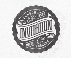 The Invitation Company #type #badge #the invitation company
