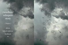 Strange Rain [iPhone, iPad] turns your iPad or iPhone into a skylight on a rainy day /by @opertoon | CreativeApplications.Net #type #clouds #rain