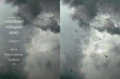 Strange Rain [iPhone, iPad] turns your iPad or iPhone into a skylight on a rainy day /by @opertoon | CreativeApplications.Net #type #clouds #rain