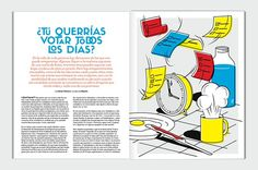 Lead #design #graphic #layout #magazine #typography