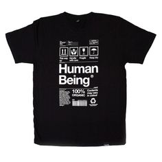 Human Being T-Shirt #helvetica #tshirt