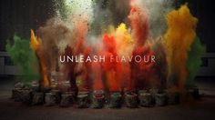 The Sound of Taste - Amazing Idea For Commercial Advertising by Agency Grey London #motion #food #kitchen #explosions #graphics #photobook