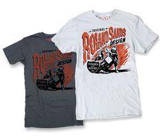 Teeshirt design for Roland Sands Design #apparel #roland #design #rsd #illustration #teeshirt #sands #california #motorcycle