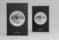 lovely stationery josh nychuk 4 #eye #white #black