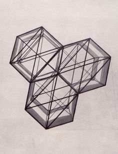 Accidental Mysteries: A Weekly Cabinet of Curiosities Curated by John Foster: Observatory: Design Observer #geometry #hexagons #geometric
