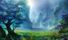 Fantasy Forest Kingdom Pc Wallpaper Hd – WallpapersBae