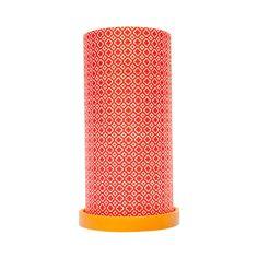 Vintage Red Large Lantern