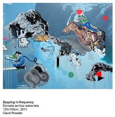 zapping in frequency by David Rosado #art