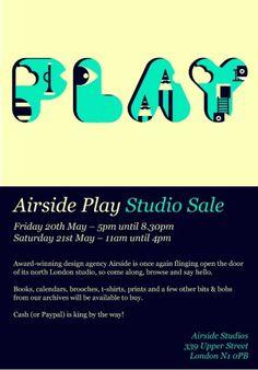 Airside Play – Studio Sale — Soupa Creative Network #sale #airside #play #studio