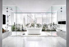 Greja Glass House by Park + Associates - bathroom, bathroom design, bath, interior design, #bathroom