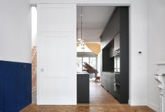 Renovation of a Row House by Bovenbouw Architectuur