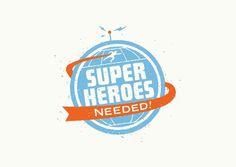 mikey burton | LOGOS #moodboard #logo #heroes #super