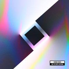 Chrome Sparks - Ride The White Lightning artwork by Quentin Deronzier #albumart #albumcover #artwork #music #cover