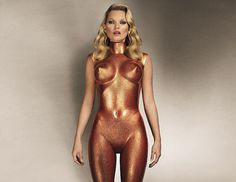 kate moss christie's to sell collection of images #gold