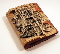 dettmer_01.jpg 1003×900 pixels #unreadble #sculpture #book