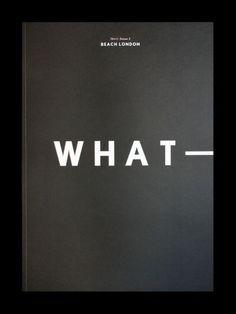booklookbookbooker:  56+1 Magazine #3 designed by Fivefootsix, published by Beach London.
